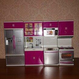 Игрушечная мебель и бытовая техника - Кухня для барби my happy kitchen, 0