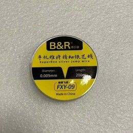 Средства индивидуальной защиты - Супер тонкая леска (струна) для отделения защитных стёкол сечение 0,009 мм, 0