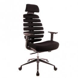 Компьютерные кресла - Кресло Everprof Ergo Black Ткань Черный, 0