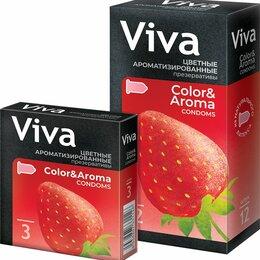 Для глаз - Презервативы ВИВА N3 цветные ароматизированные (Малайзия), 0