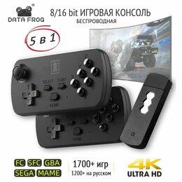 Ретро-консоли и электронные игры - 🔥 TV HDMI 4K Игровая Консоль 8/16-bit 5в1, 0