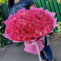 Цветы, букеты, композиции - 101 роза в Липецке, 0