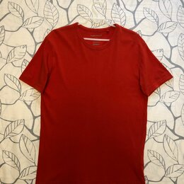 Футболки и майки - 46-48 размер Красная футболка C&A, Германия Хлопок, 0