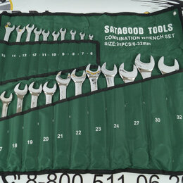 Наборы инструментов и оснастки - 2 С Набор инструментов 22 предмета (ключи р/накидные 6-32мм) сумка, 0