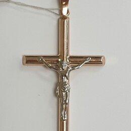 Кулоны и подвески - Крест золото 585, 0