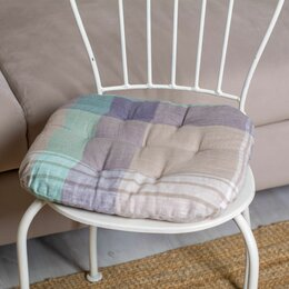 Декоративные подушки - Подушка на стул (зеленая), 0
