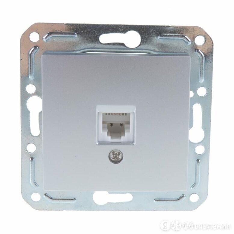 Телефонная розетка Volsten Magenta по цене 245₽ - Электроустановочные изделия, фото 0