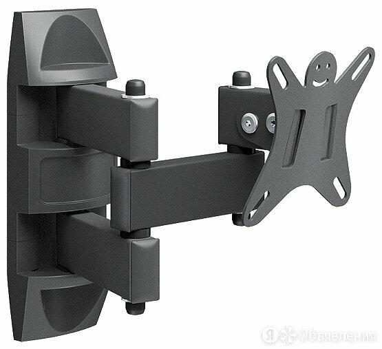 """Крепление настенное Holder LCDS-5039 металлик 10-26"""" +15° поворот 350° (до 25кг) по цене 1189₽ - Кронштейны и стойки, фото 0"""