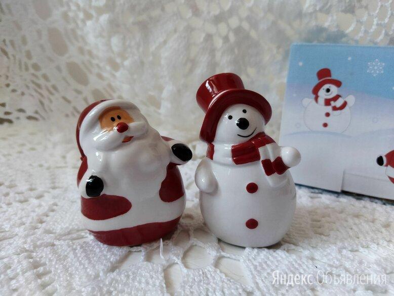 Набор для специй новогодний по цене 200₽ - Солонки, перечницы и ёмкости для специй, фото 0