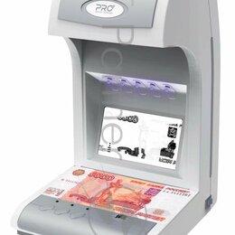 Детекторы и счетчики банкнот - Детектор банкнот Pro 1500 Irpm Lcd Т 05614 просмотровый мультивалюта, 0