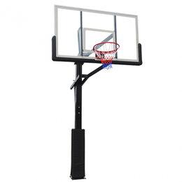 Стойки и кольца - Баскетбольная стационарная стойка DFC ING72G, 0