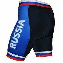 Шорты - Велошорты 16-0041 S-RUSSIA-C16 PRO с лого РОССИЯ с памперсом C16 черно-синие L, 0