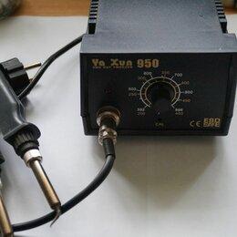 Электрические паяльники - Станция паяльная AIDA 852 и паяльник  для SMD Ya hun 950, 0