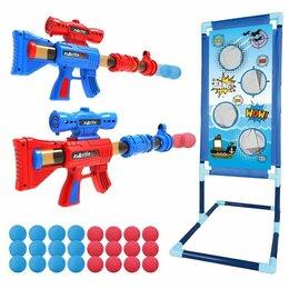 """Игрушечное оружие и бластеры - Детское оружие """"бластер с мягкими и гелевыми пулями"""" ys02a-1, 0"""