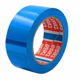 Изоляционные материалы - Скотч прочный для упаковки Tesa 100м  38мм х 60мкм синий 6-24, 0
