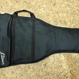 Аксессуары и комплектующие для гитар - Lutner GE-2 чехол для электрогитары утепленный , 0