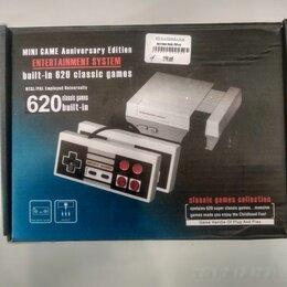 Игровые приставки - Игровая приставка mini game built-in 620 classic games, 0