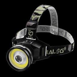 Защита и экипировка - Фонарь на лоб X-BALOG большой, 0