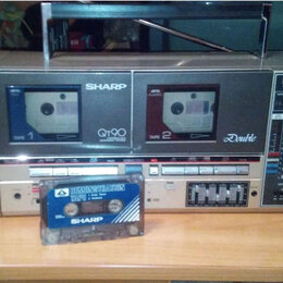 Музыкальные центры,  магнитофоны, магнитолы - Магнитола sharp qt 90, 0