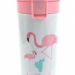 Ёмкости для хранения - Вакуумная термокружка Фламинго, 0