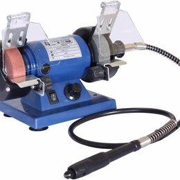 Станки и приспособления для заточки - Точильно-полировальный станок GM-01075F с гравером., 0