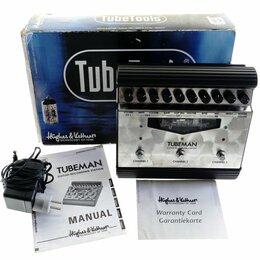 Звуковые карты - Hughes&Kettner TubeMan II ламповый гитарный предусилитель USED, 0