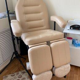Мебель - Сириус 10 педикюрное кресло слоновая кость, 0