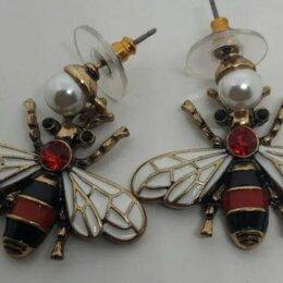 Серьги - Серьги пчелы Gucci, 0