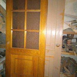 Межкомнатные двери - Межкомнатные двери со стеклом б/у, 0
