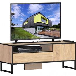 Компьютерные и письменные столы - Лофт СБ-3106 Тумба ТВ Дуб Минерва, 0