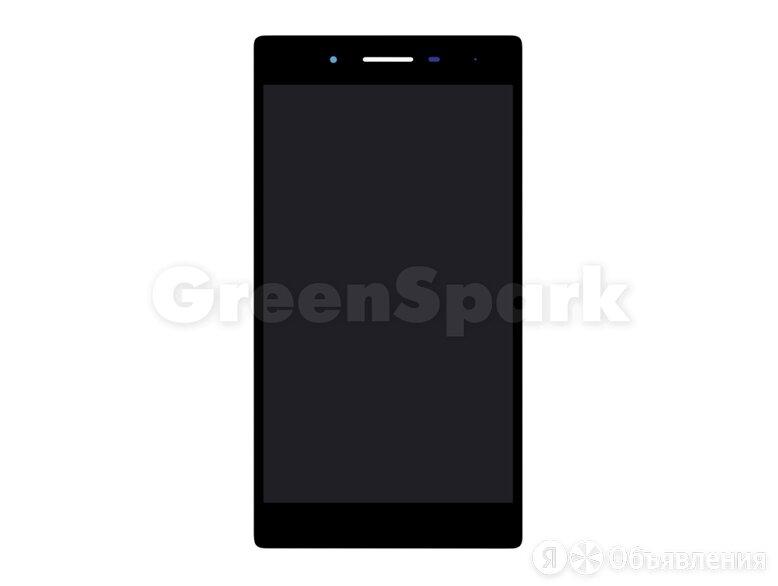 Дисплей для Lenovo Tab 3 (730X) + тачскрин (черный) по цене 1550₽ - Дисплеи и тачскрины, фото 0