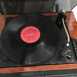 Проигрыватели виниловых дисков - Виниловый проигрыватель  Вега 108, 0