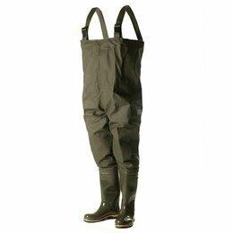 Одежда и обувь - Вейдерсы Nordman 15 пвх + Винитол олива, 0