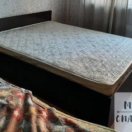 Кровати - Кровать двуспальная с матрасом , 0