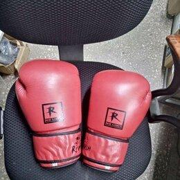 Боксерские перчатки - Боксерские перчатки натуральная кожа, 0