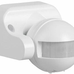 Дополнительное оборудование и аксессуары - Датчик движения ДД 009 бел. макс. нагрузка 1100Вт, угол обзора 180 гр, дальность, 0