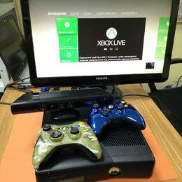 Игровые приставки - Игровая приставка Xbox 360 + kinect + FB + 2 Джойс, 0