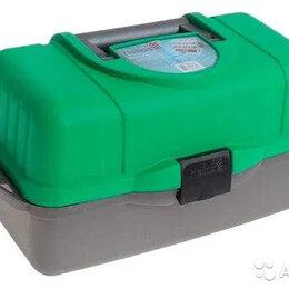 Сумки и ящики - Ящик для рыбалки helios трехполочный, 0