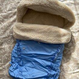 Конверты и спальные мешки - Little people зимний конверт метелица меховой, 0
