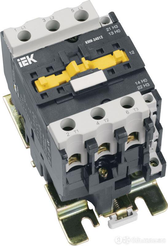 Контактор 50А 230В КМИ-35011 (5012) НО+НЗ (1з+1р) (KKM31-050-230-11) IEK по цене 2813₽ - Пускатели, контакторы и аксессуары, фото 0
