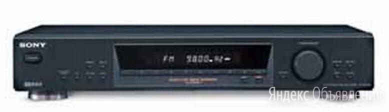 Sony ST-SE 370 Japan черный тюнер по цене 15000₽ - Музыкальные центры,  магнитофоны, магнитолы, фото 0