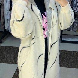 Пальто - Женское пальто альпака р-ры 48-60, 0