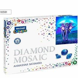 Рукоделие, поделки и сопутствующие товары - Мозаика алмазная по номерам 30*40 M-10591 СКАЗОЧНЫЙ СЛОН, 0
