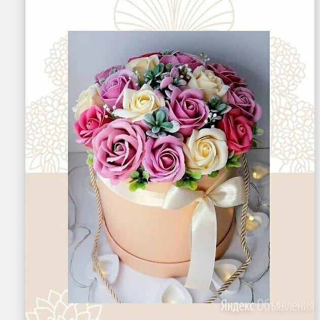 Букеты из мыльных роз по цене 1500₽ - Цветы, букеты, композиции, фото 0