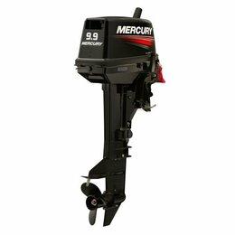 Двигатель и комплектующие  - 2х-тактный лодочный мотор Mercury ME 9.9 MH 169CC Light, 0