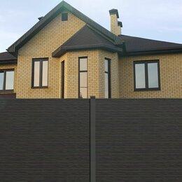 Заборчики, сетки и бордюрные ленты - Глухой забор ДПК из шпунтованной доски HILST 2х2, 0