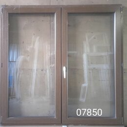 Готовые конструкции - Пластиковое окно штульповое (б/у) 1600(в)х1630(ш), 0