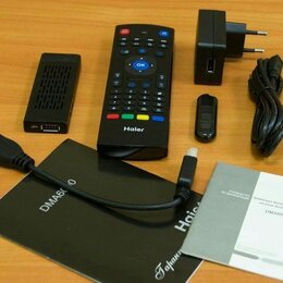 ТВ-приставки и медиаплееры - Smart-TV приставка Haier DMA6000, 0
