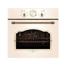 Духовые шкафы - Духовой шкаф Gefest ЭДВ ДА 602-02 К55, электрический, 55 л, класс А, кремовый..., 0
