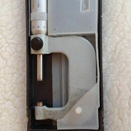 Измерительные инструменты и приборы - Микрометр 25-50 мм, 0
